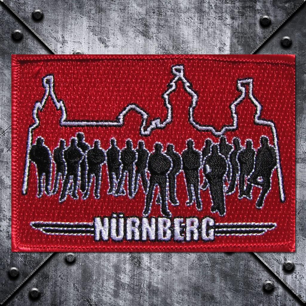 Aufnäher 'Nürnberg' Fans und Burg