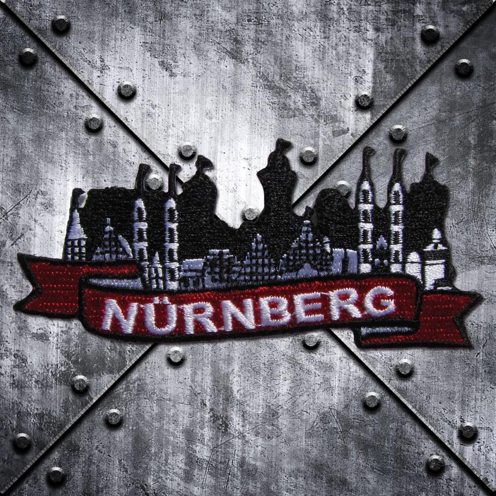 Aufnäher 'Nürnberg' Stadt und Burg