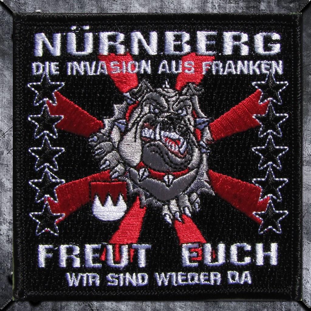 Aufnäher 'Nürnberg  Die Invasion aus Franken .........
