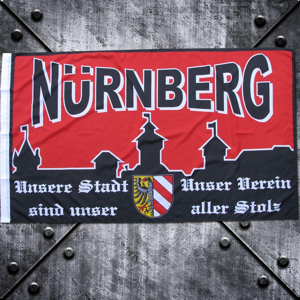 Fahne 'Nürnberg' Burg