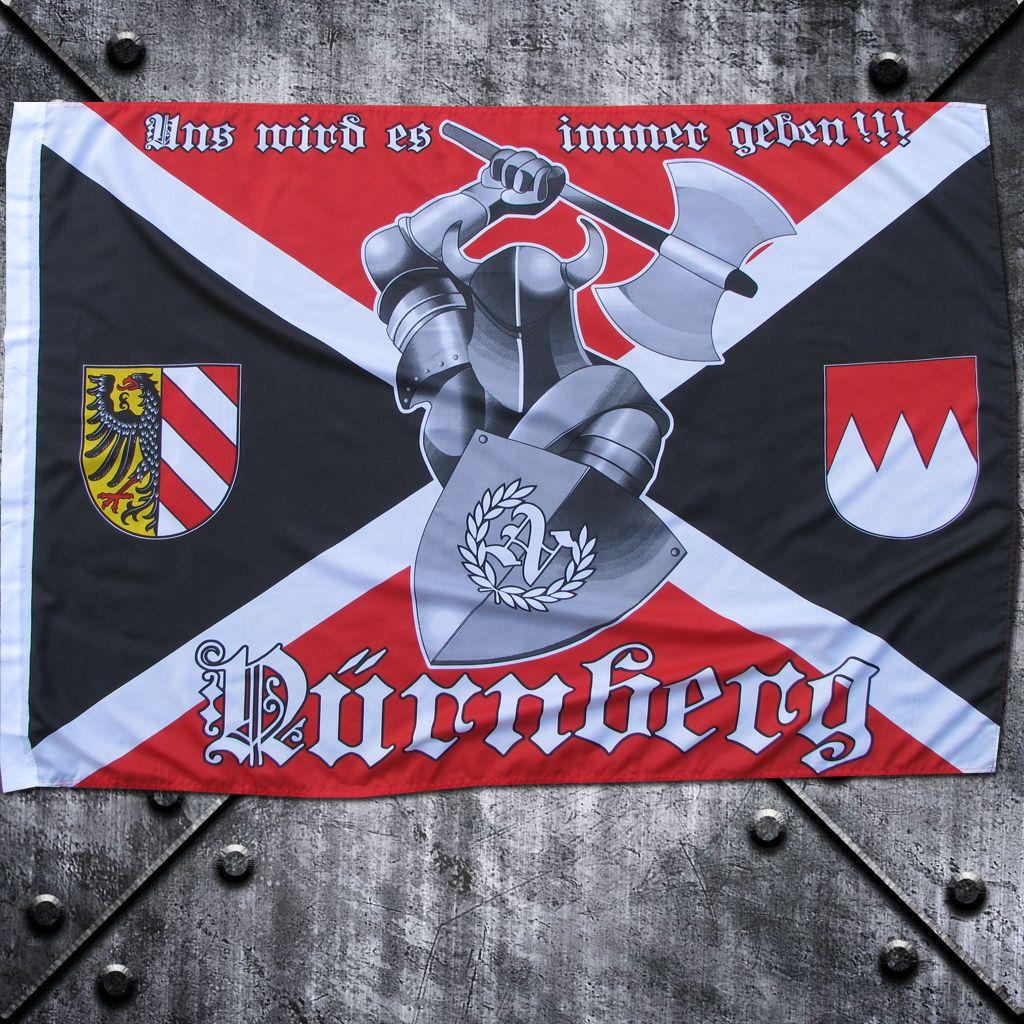 Fahne 'Nürnberg' Ritter