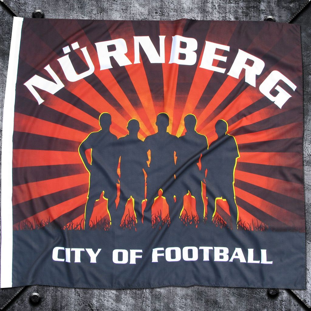 Fahne 'Nürnberg' City of Football