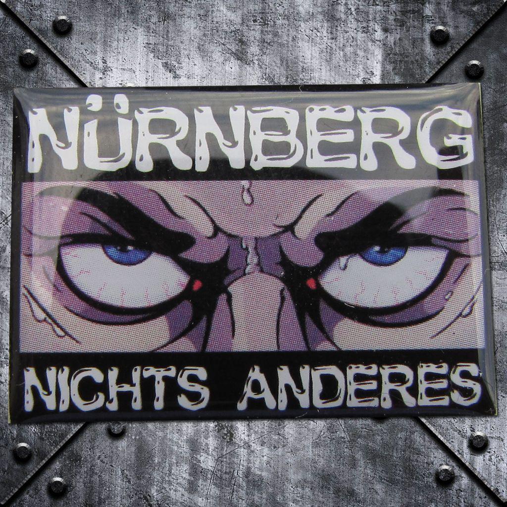 PIN 'Nürnberg nichts anderes' Böse Augen
