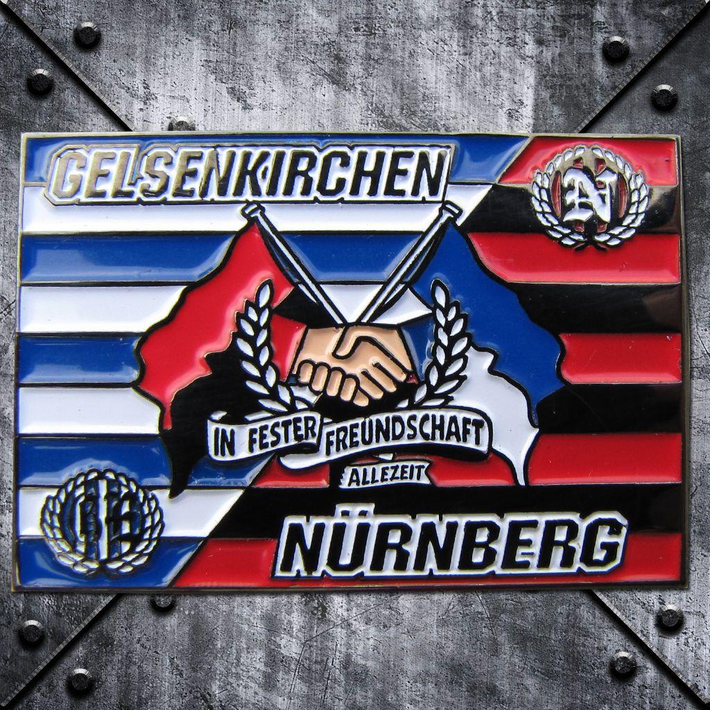 PIN 'Gelsenkirchen Nürnberg' in fester Freundschaft