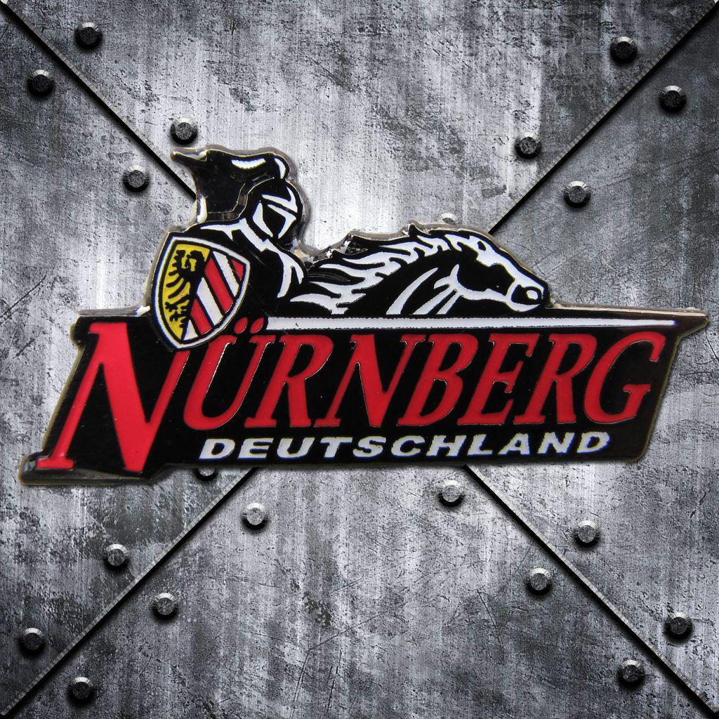 PIN 'Nürnberg Deutschland'  reitender Ritter