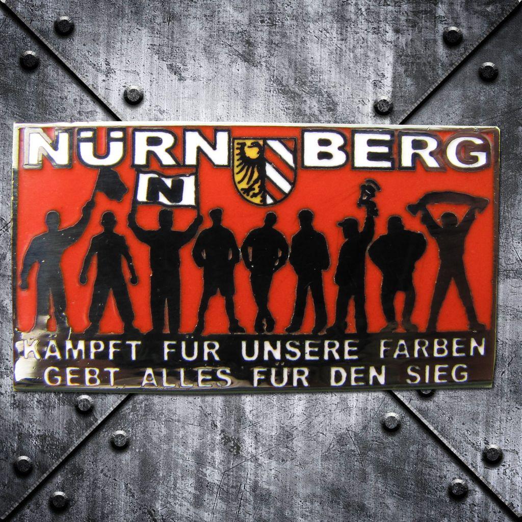 PIN 'Nürnberg'  Fans  Kämpft für unsere Farben