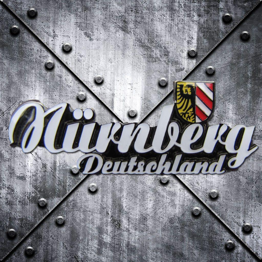 PIN 'Nürnberg Deutschland' mit Stadtwappen