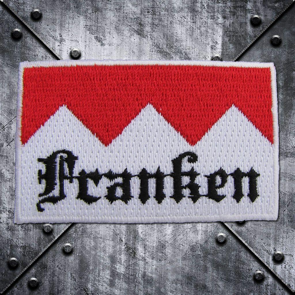 Aufnäher 'Franken' Rot/Weiss