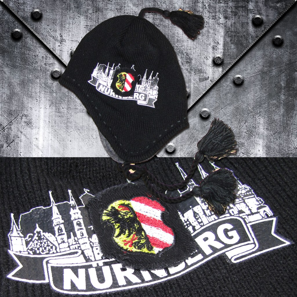 Mütze 'Nürnberg' Burg/Stadtwappen