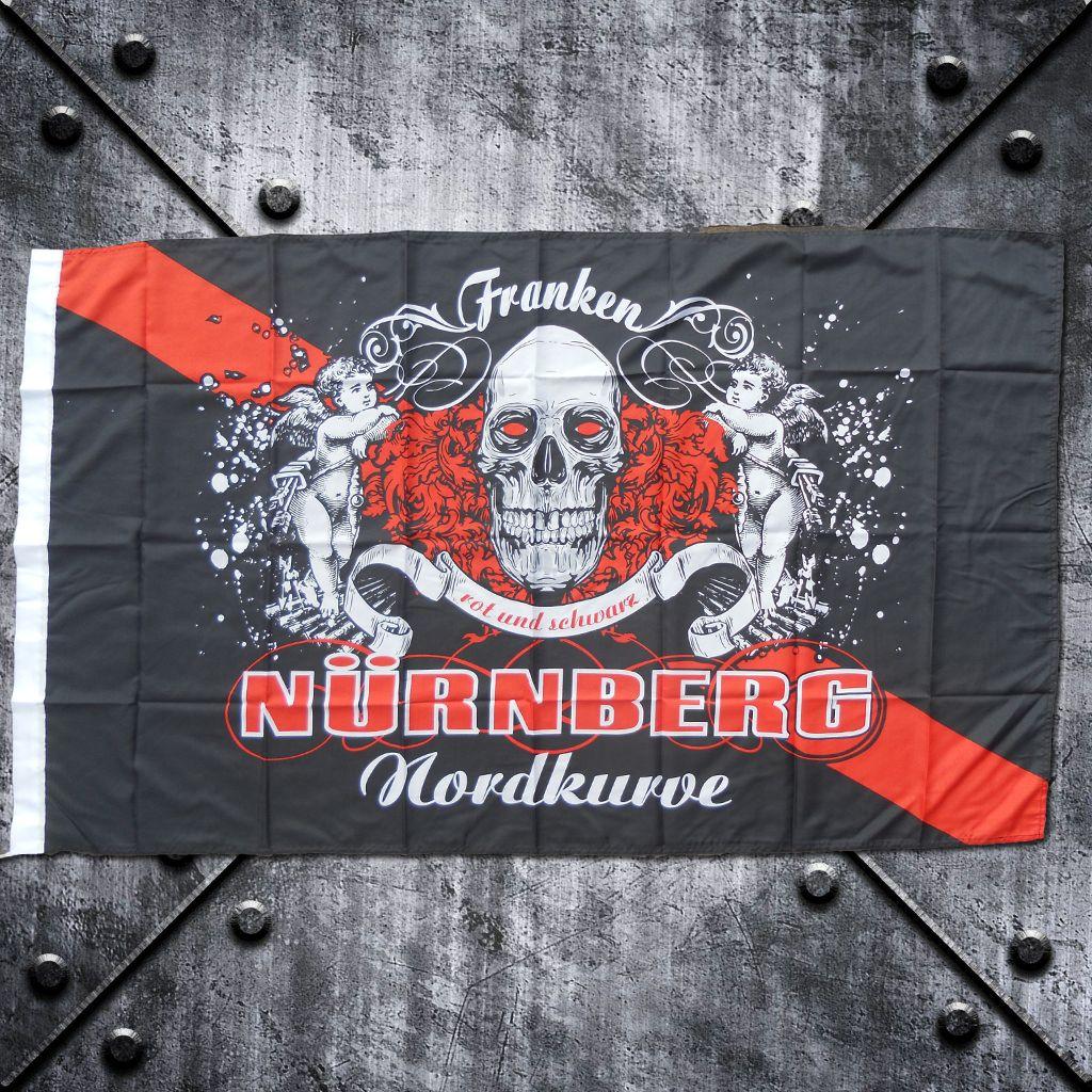 Fahne 'Nürnberg Nordkurve' Franken