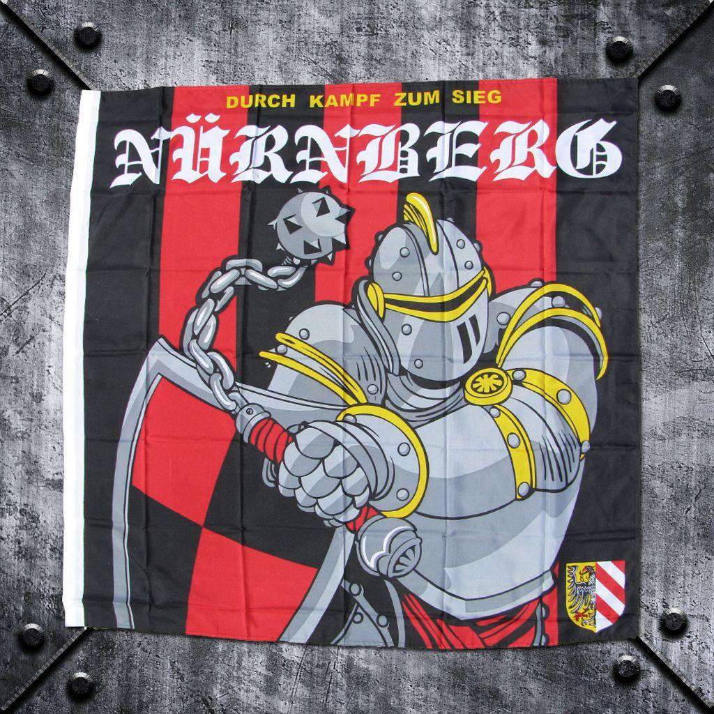 Fahne 'Nürnberg' Durch Kampf zum Sieg
