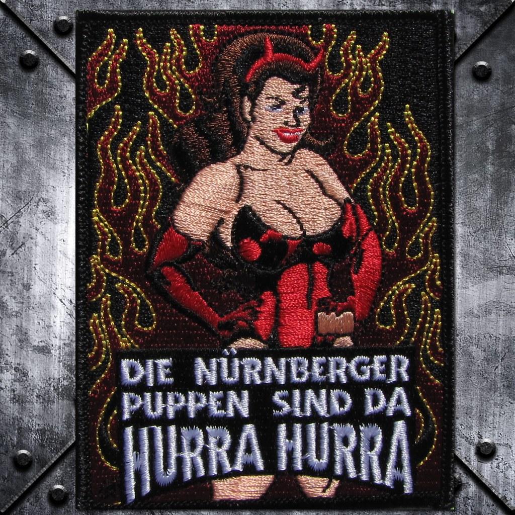 Aufnäher 'Nürnberger Puppen' Teufelin