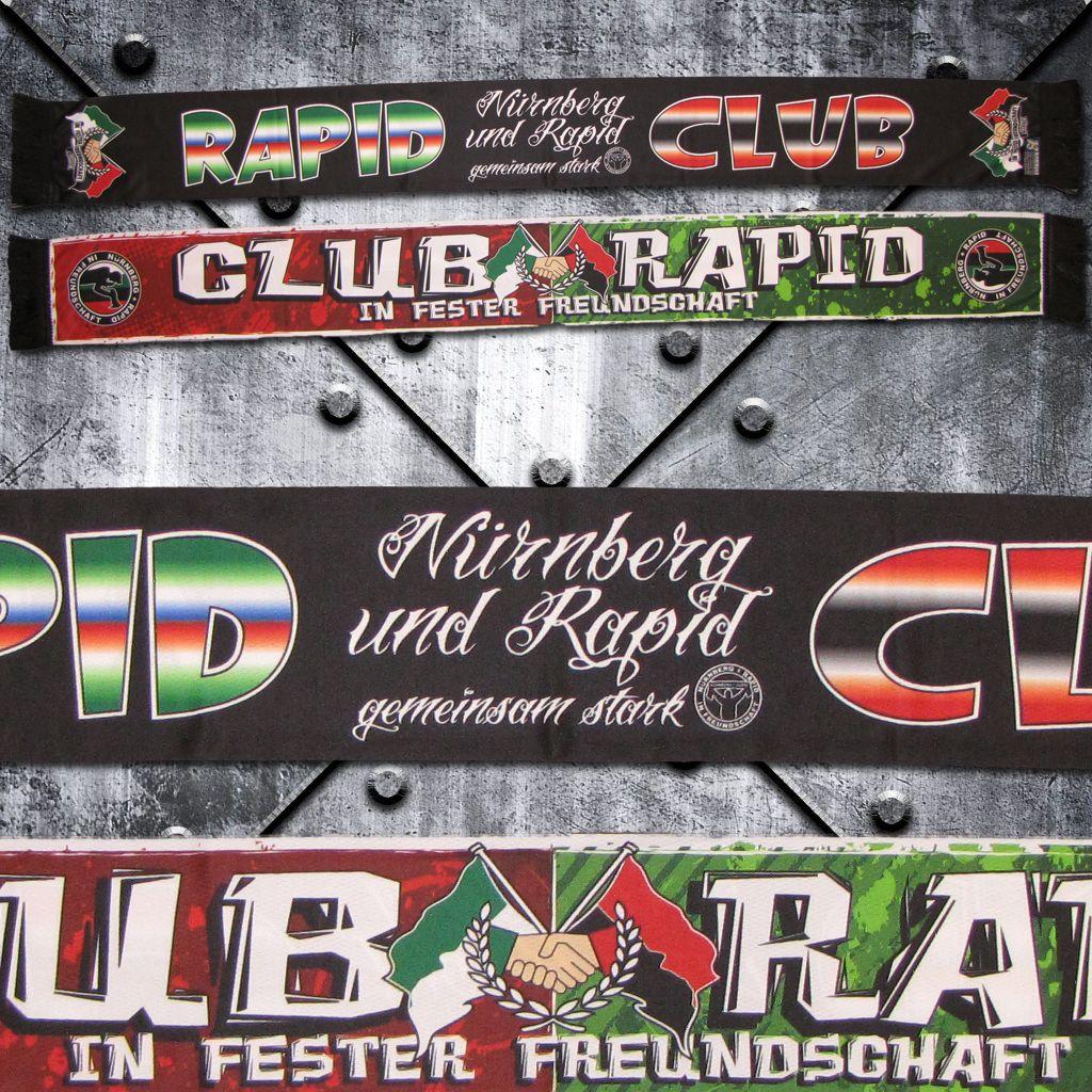 Schal (Polyester) 'Club / Rapid'