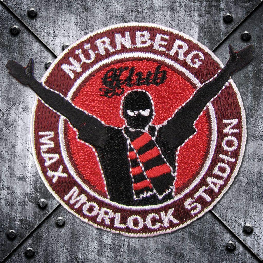 Aufnäher 'Nürnberg' Max-Morlock-Stadion