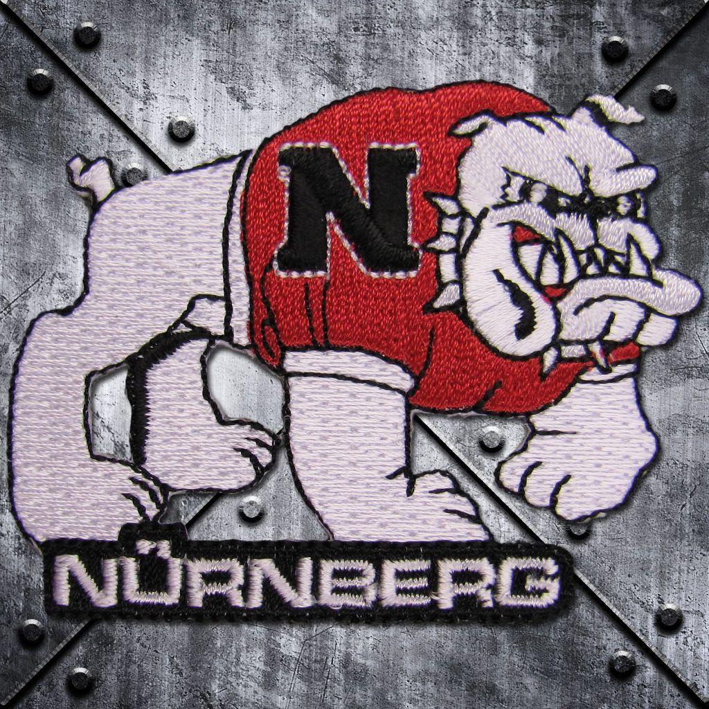 Aufnäher 'Nürnberg' Bulldog