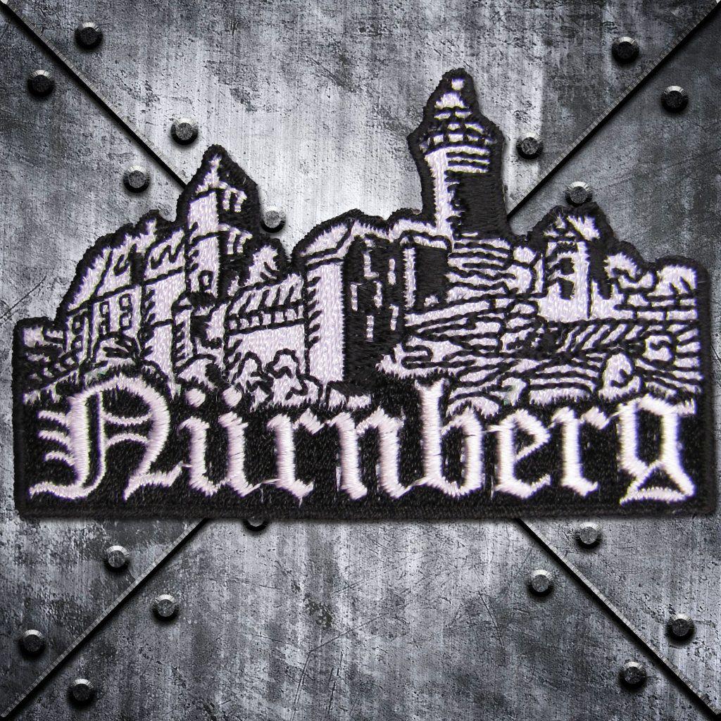 Aufnäher 'Nürnberg' Burg