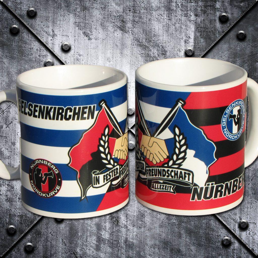 Freundschaftstasse 'Nürnberg und Gelsenkirchen'