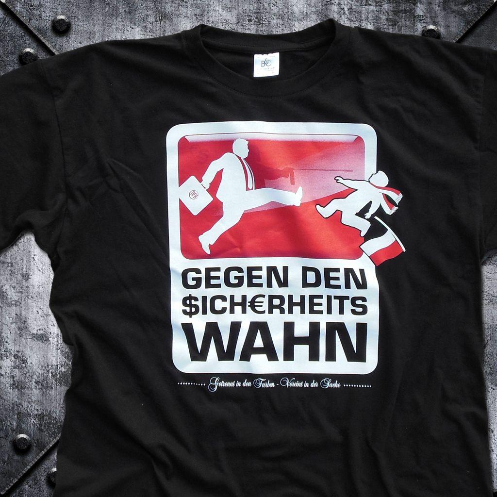 T-Shirt 'Gegen den Sicherheitswahn'