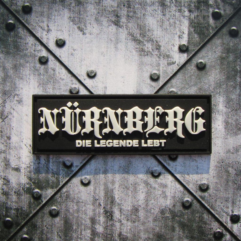 Soft PVC Aufnäher - Nürnberg die Legende lebt