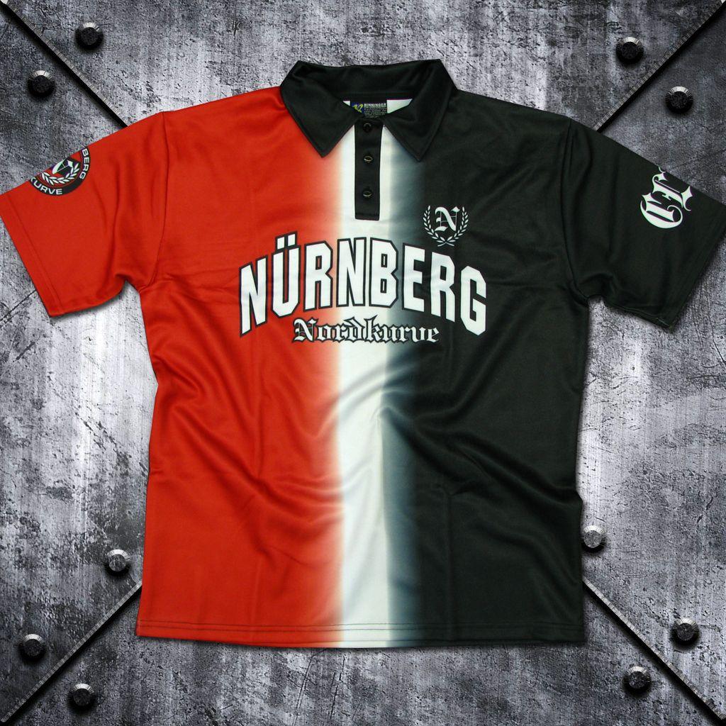 Polo-Shirt `Nürnberg Nordkurve