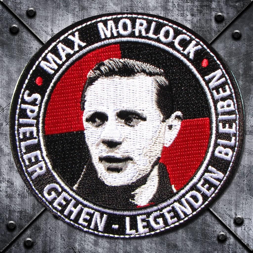 Aufnäher 'Max Morlock'
