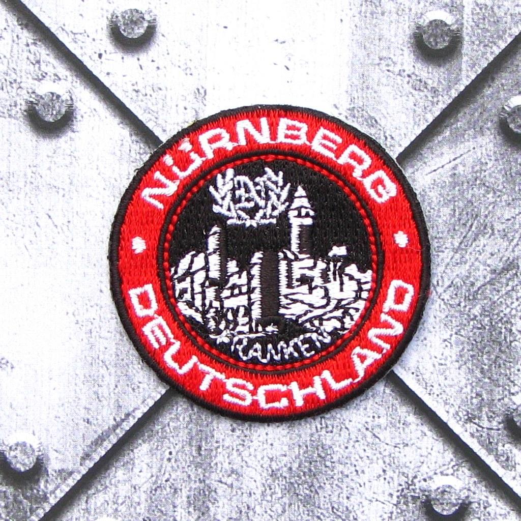 Aufnäher 'Nürnberg - Deutschland'