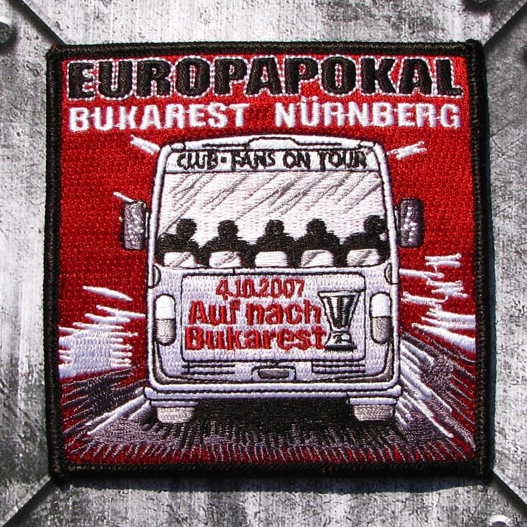 Aufnäher 'Europapokal 2007/Bukarest'