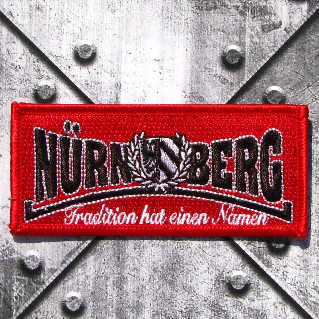 Aufnäher 'Nürnberg-Tradition'