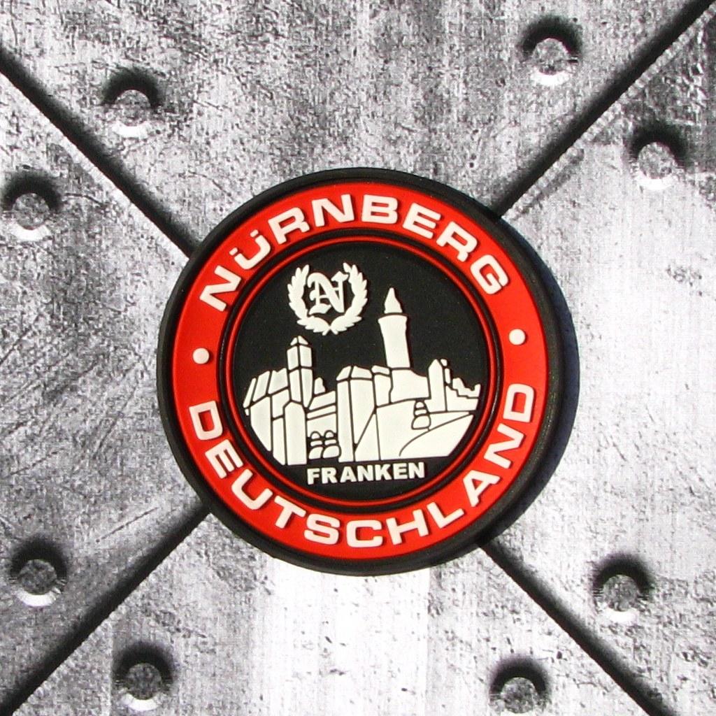 Aufnäher/Rubber Badge 'Nürnberg - Deutschland'