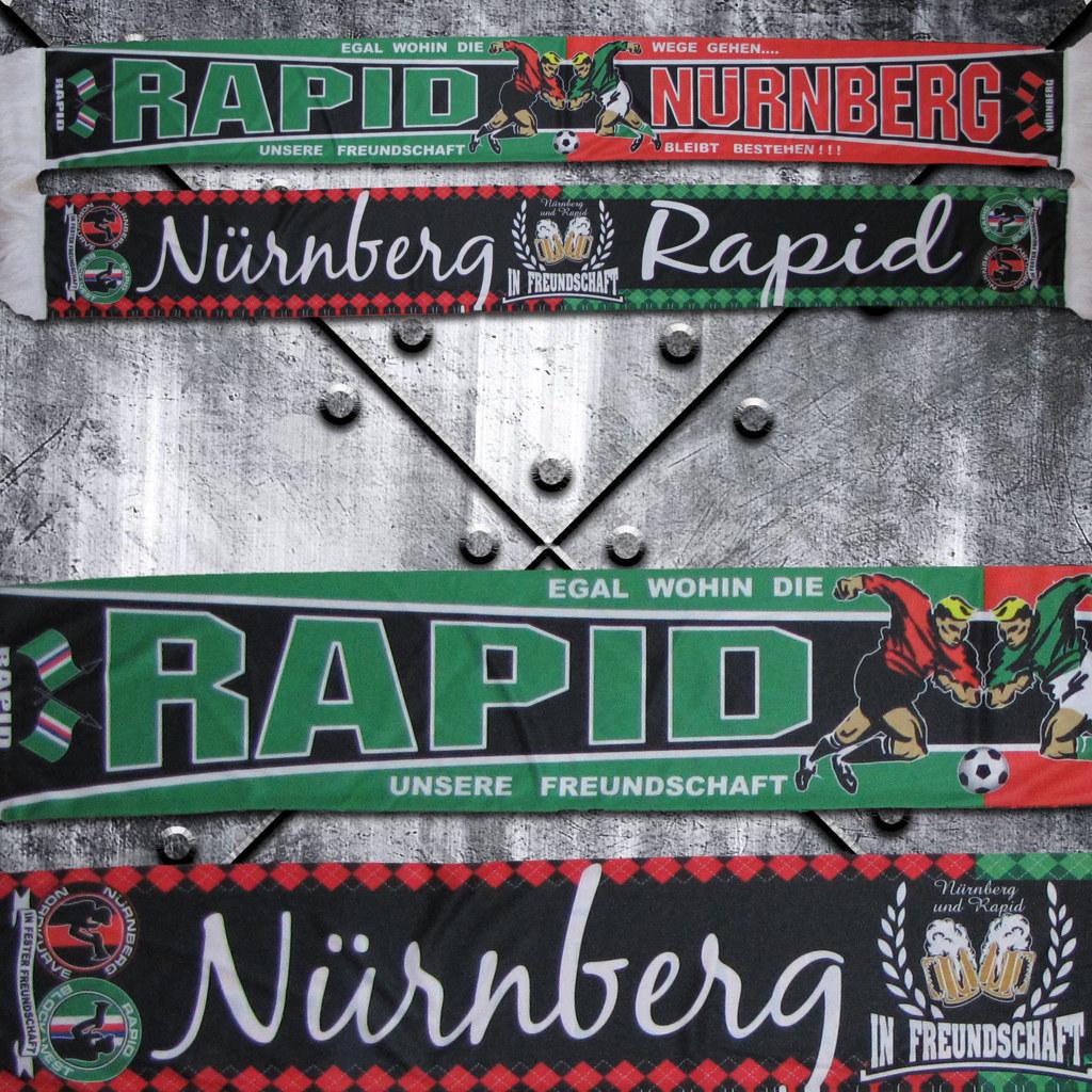 Polyester Schal 'Nürnberg - Rapid'