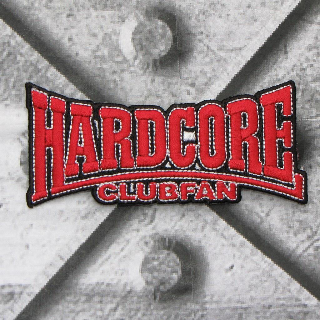 Aufnäher 'Hardcore Clubfan'