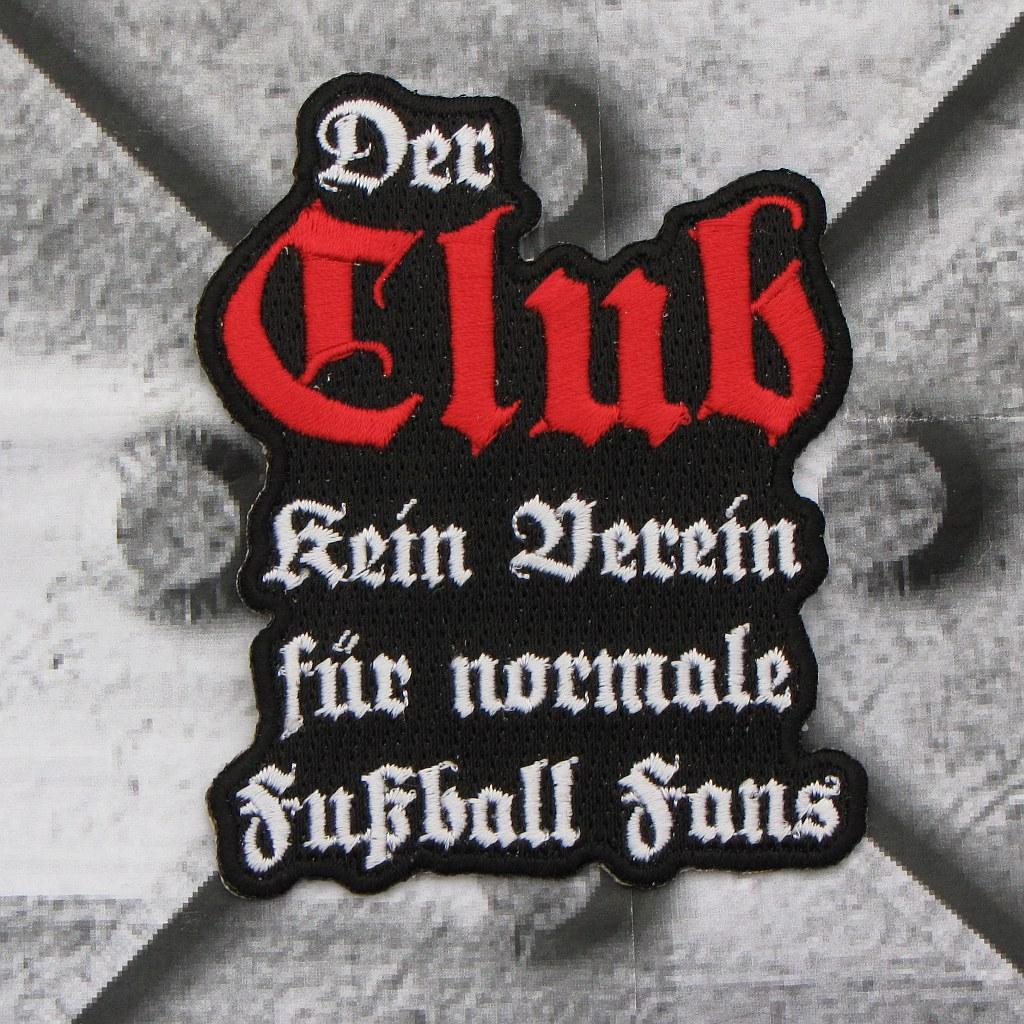 Aufnäher 'Der Club...'