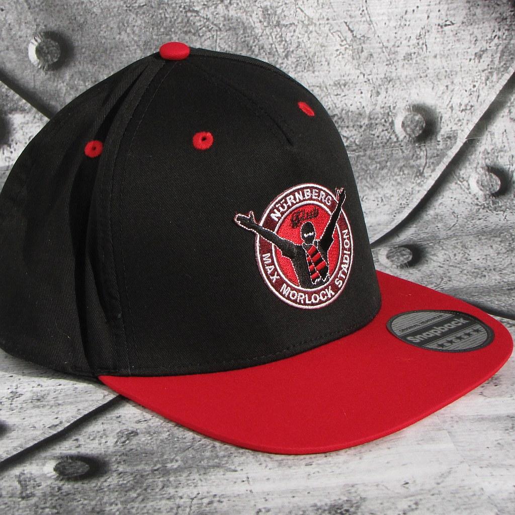 Snapback Cap 'Nürnberg Max Morlock Stadion' schwarz