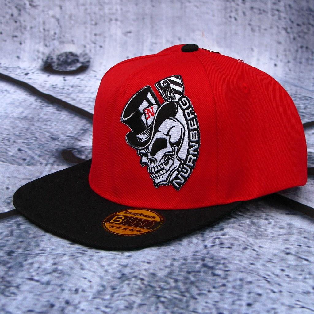 Snapback Cap 'Nürnberg Skull'