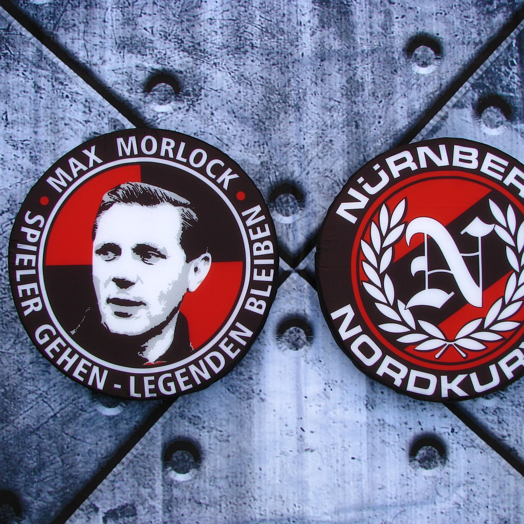 Sitzkissen 'Max Morlock - Nürnberg Nordkurve'