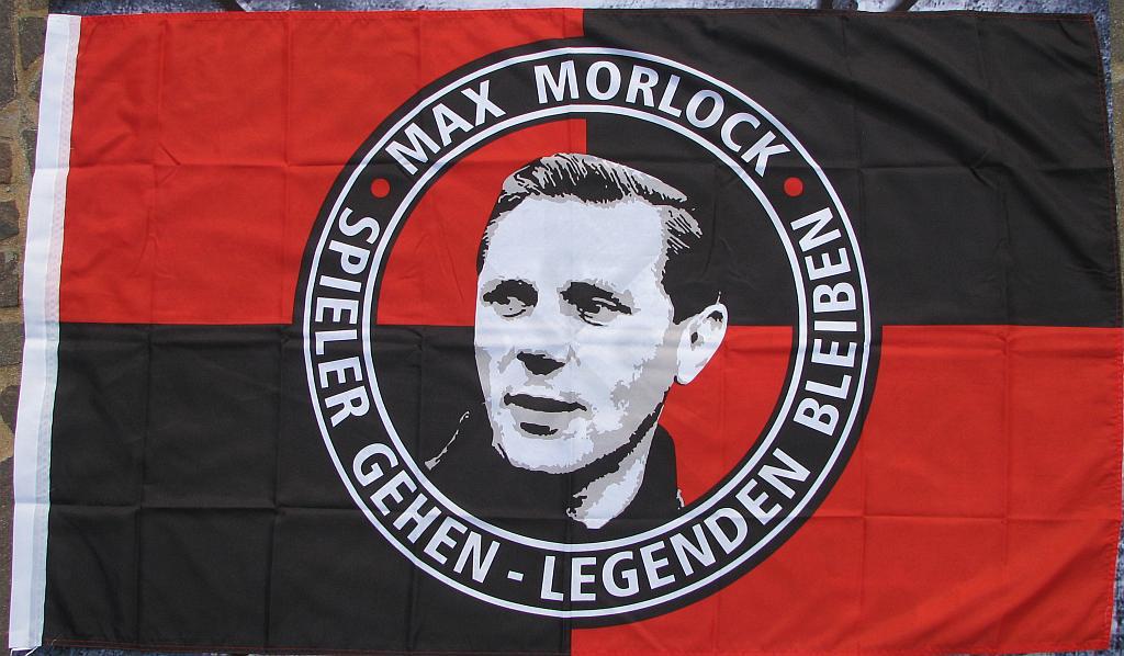 Fahne - Max Morlock