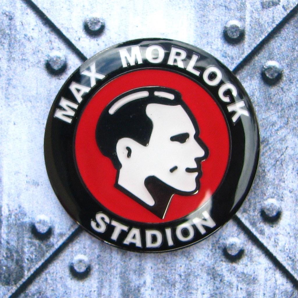 Pin rund Max Morlock