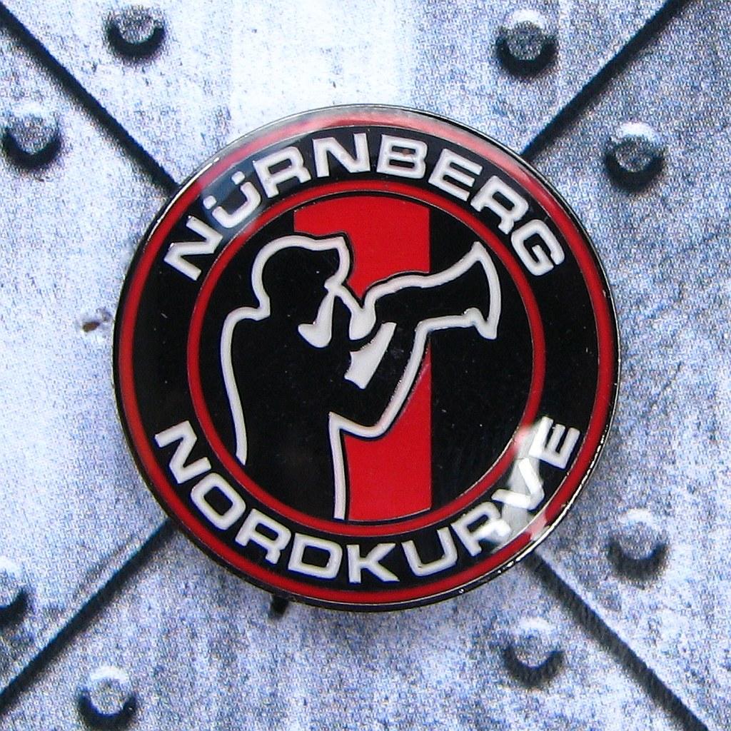 Pin rund - Nürnberg Nordkurve