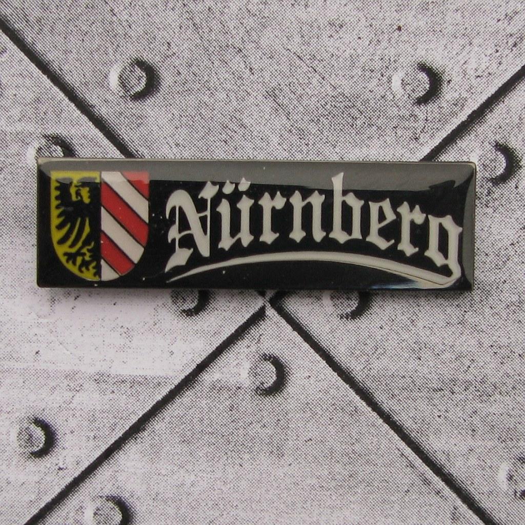 Pin - Nürnberg Stadtwappen