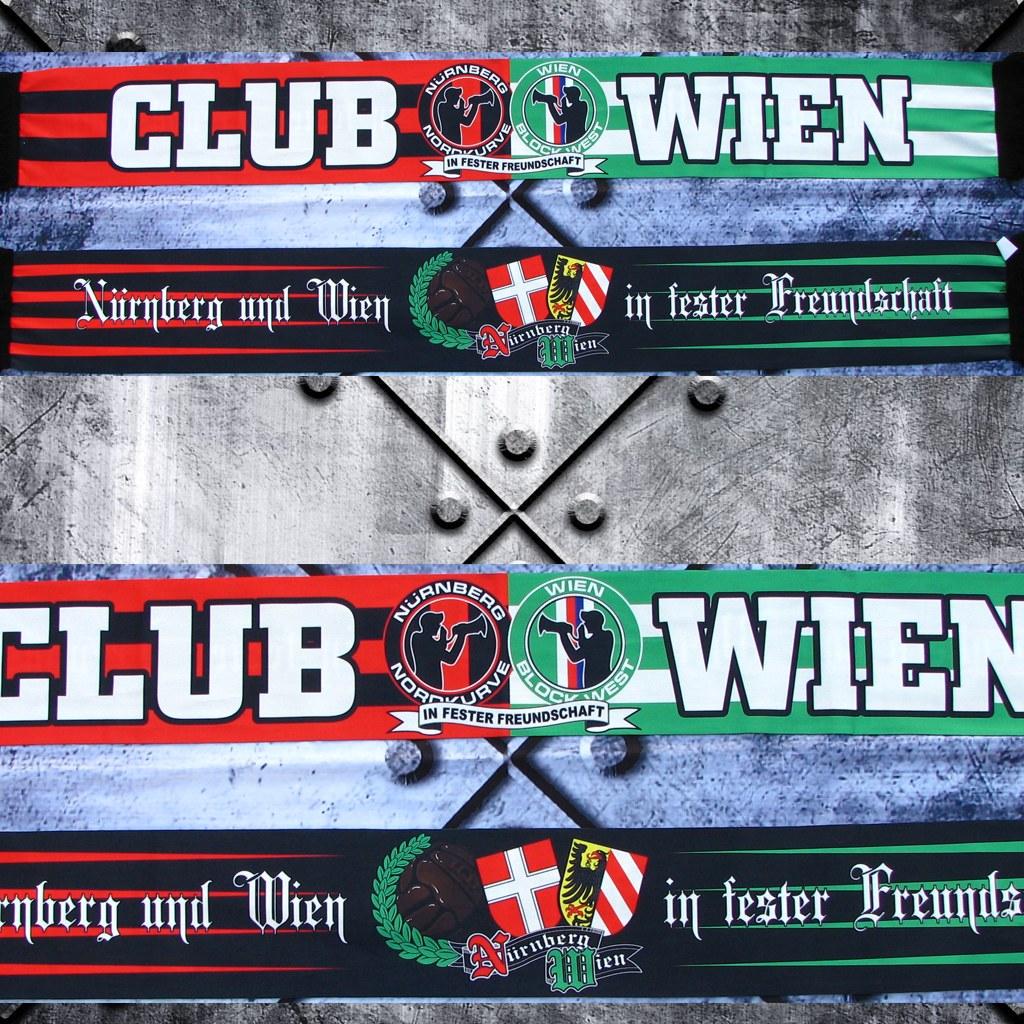 Poly Schal - Club und Wien in fester Freundschaft