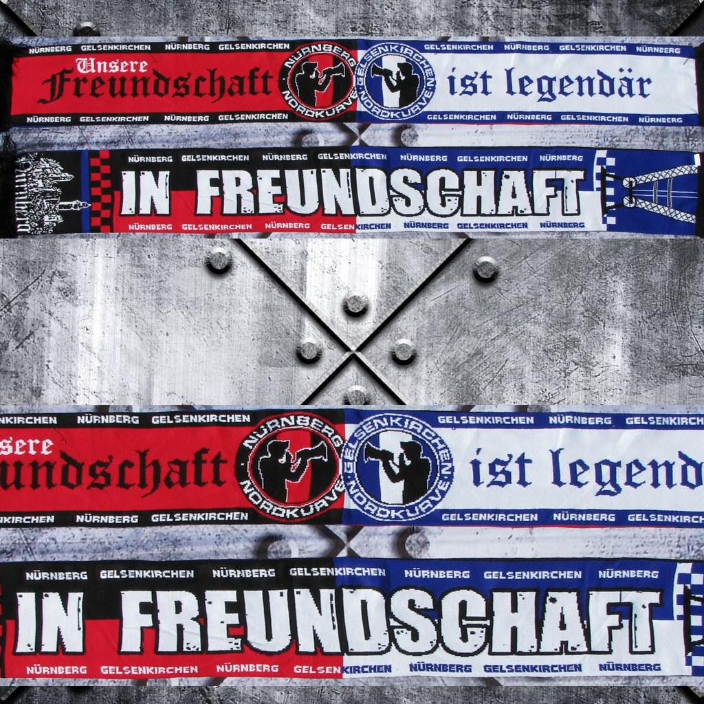 HD Jaquard Schal - Gelsenkirchen legendäre Freundschaft