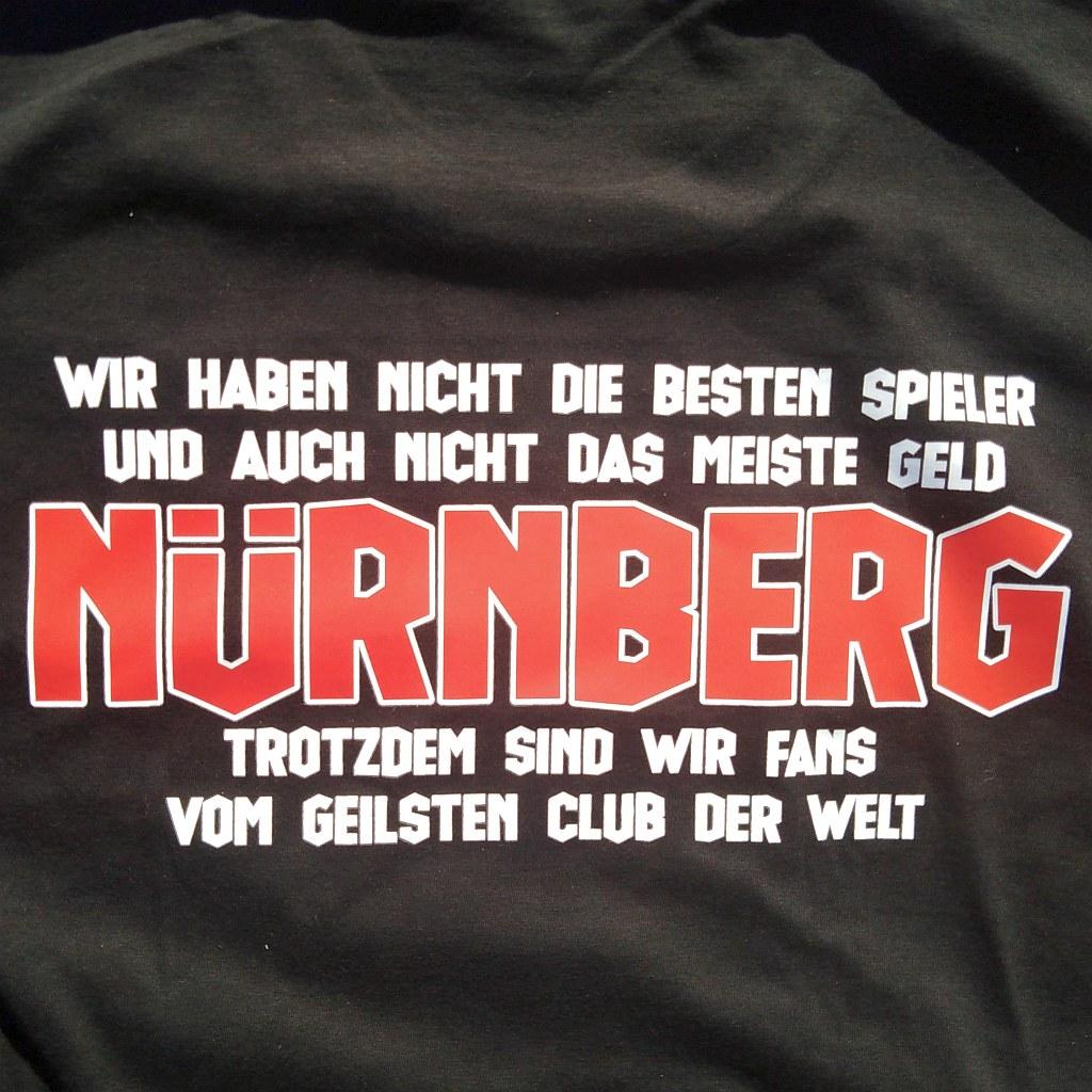 T-Shirt beidseitig bedruckt  - geilster Club der Welt