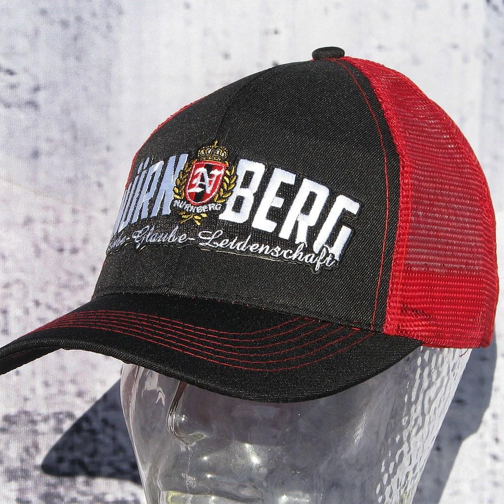 Cap - Liebe Glauben Leidenschaft schwarz rot
