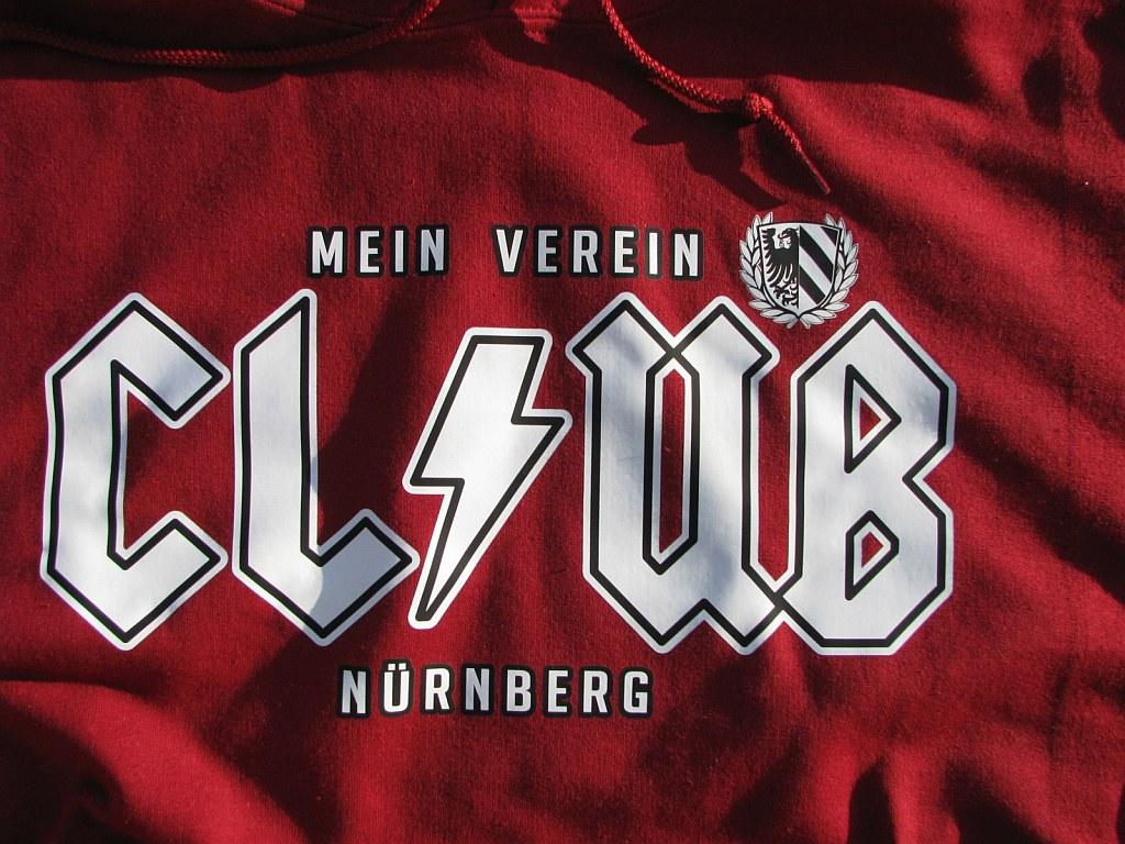 Kapuzensweat Shirt Front + Ärmeldruck - Mein Verein Club - High