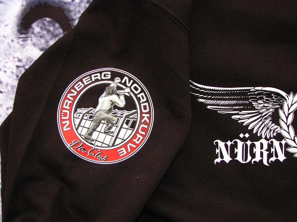 Sweat Shirt  Front + Ärmeldruck   Adlerschwinge   schwarz