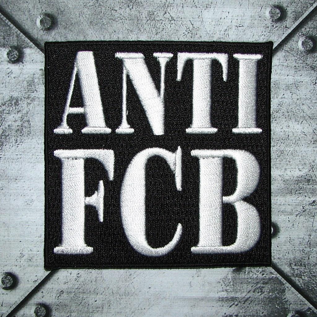 Aufnäher - ANTI FCB