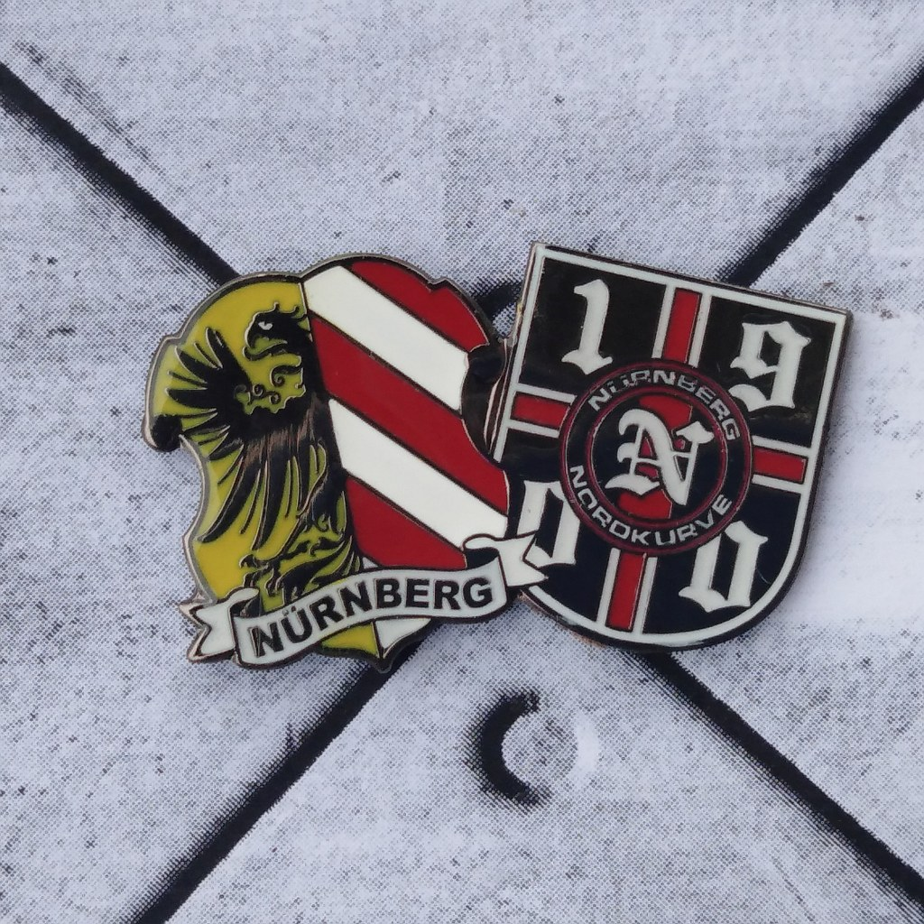 Pin - Nürnberg Wappen 1900 Club