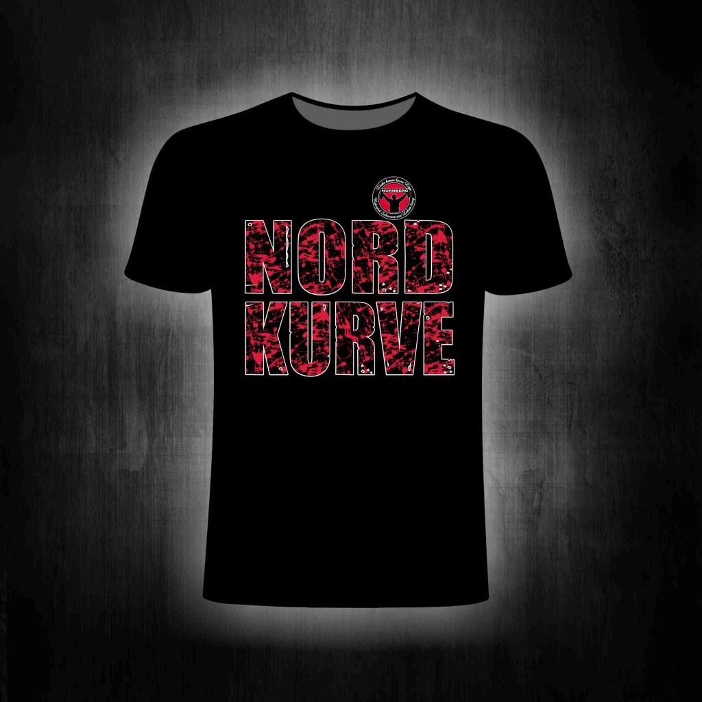 T-Shirt einseitig bedruckt  'Nordkurve'