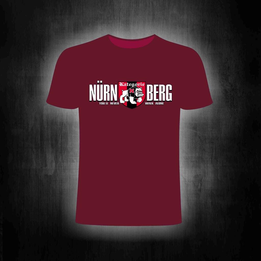 T-Shirt einseitig bedruckt  - Kategorie N / You'll never walk al