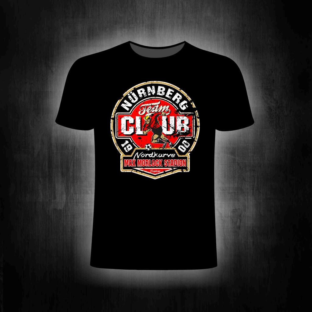 Shirt - Vintage Max Morlock Stadion (schwarz)